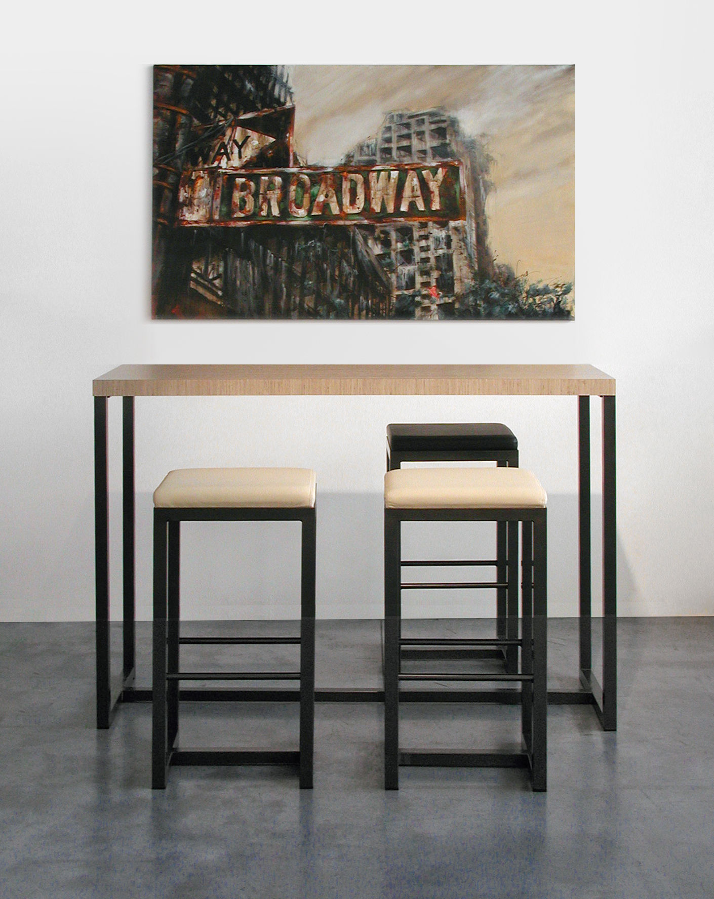 Mange Debout 8 Personnes Big Brother High Table By Zeus