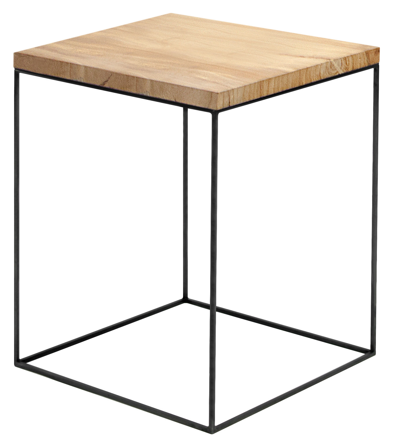 Tabke Basse Table Basse Slim Irony 41 X 41 X H 64 Cm Zeus