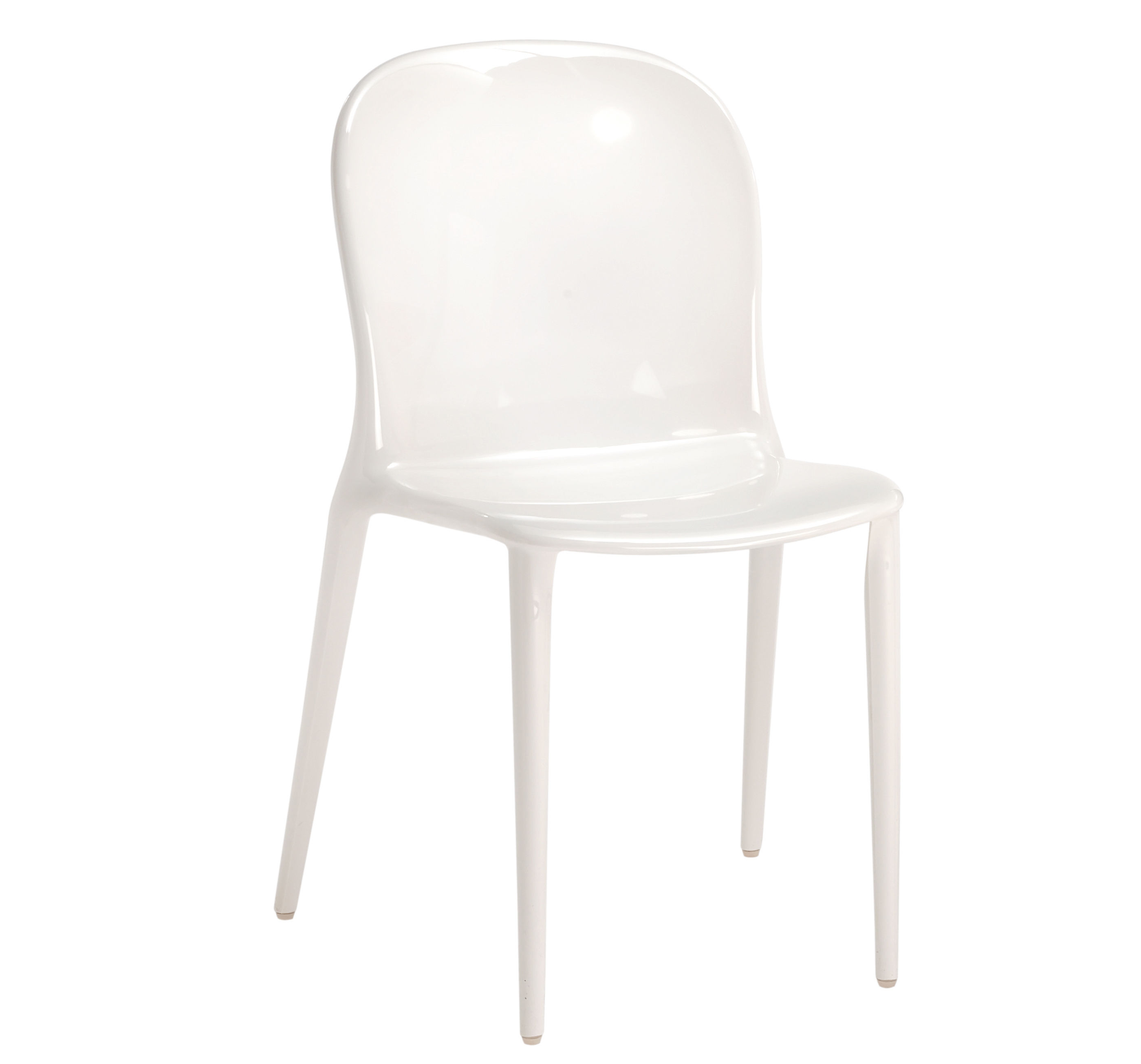 Chaises En Polycarbonate Chaise Empilable Thalya Opaque Polycarbonate Kartell