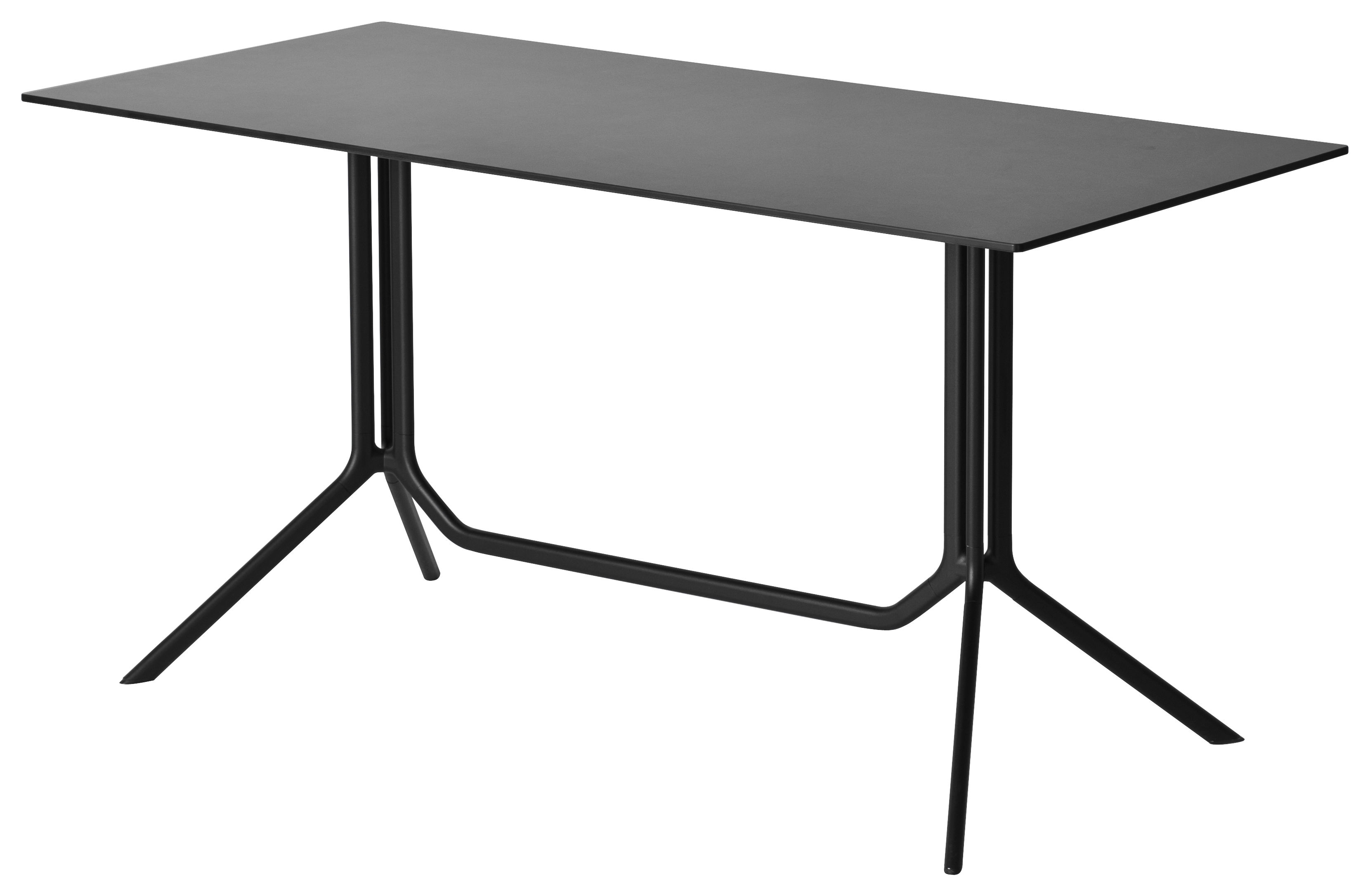 Table Pliante Exterieur Table Pliante Poule Double 120 X 60 Cm Kristalia