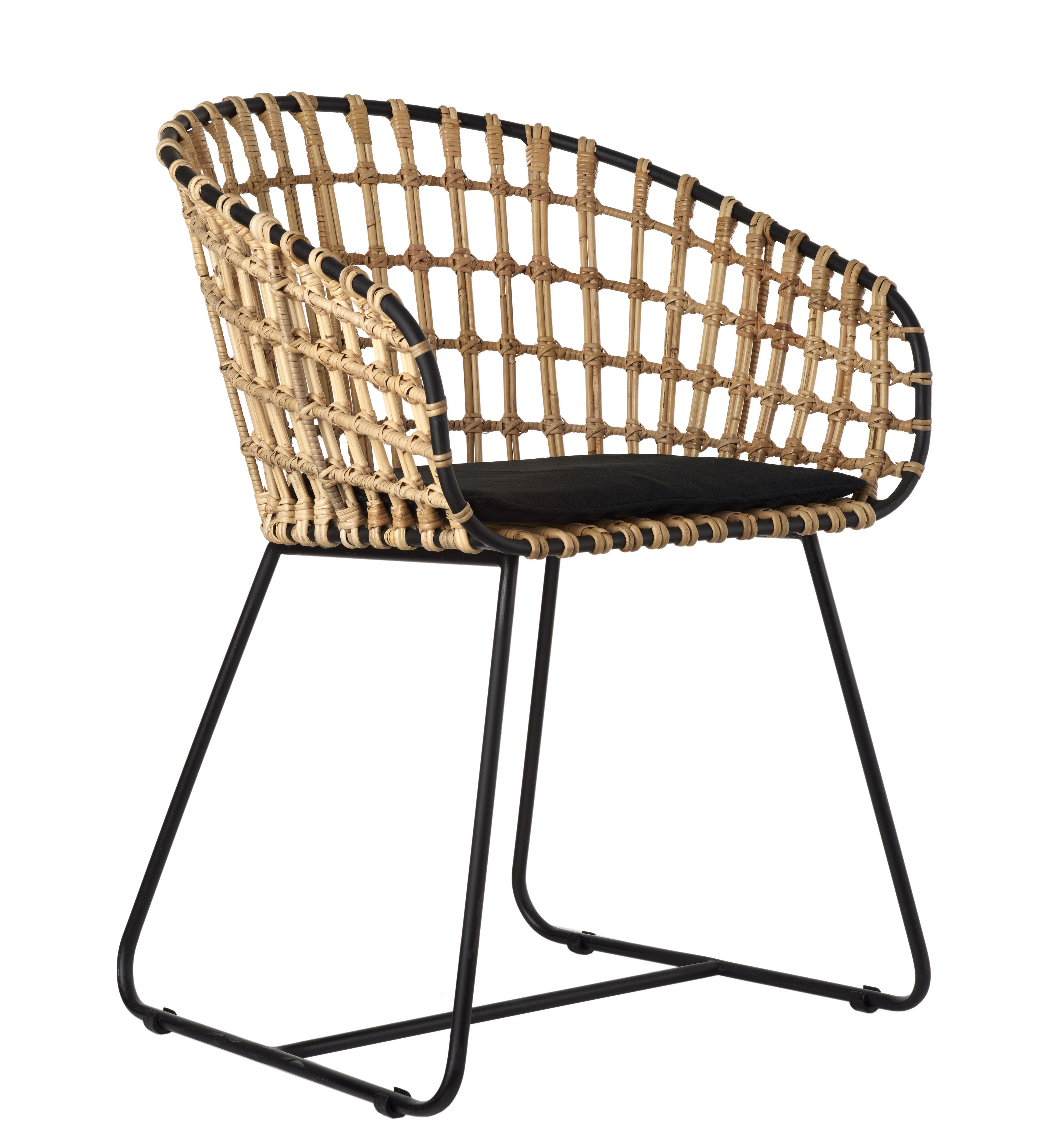 Lounge Sessel Natur Sessel Rattan Perfect Sessel Rattan Jiliane Beige With