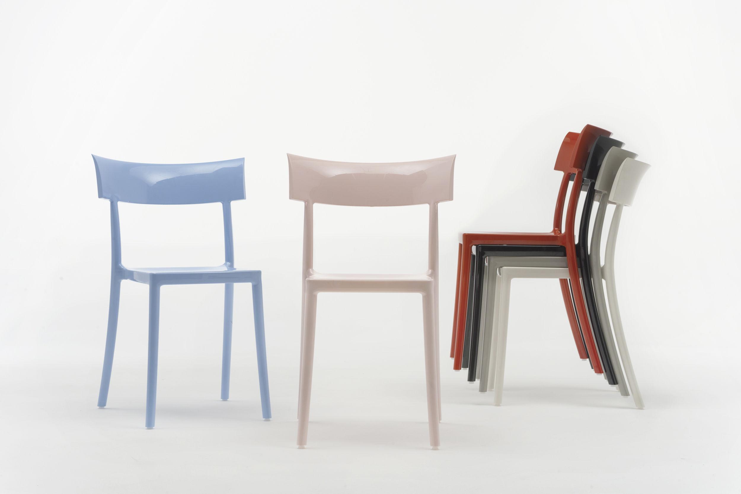 Sedie policarbonato kartell kartell venice sedia