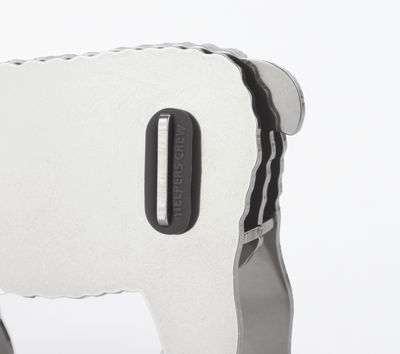 Mey Paper clip holder - / Sheep - Magnetic - Steel Chromed by Pa