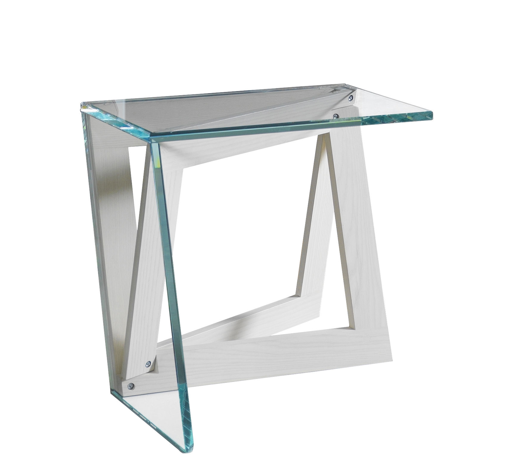 Table Appoint Verre Table D Appoint Quadror01 Horm