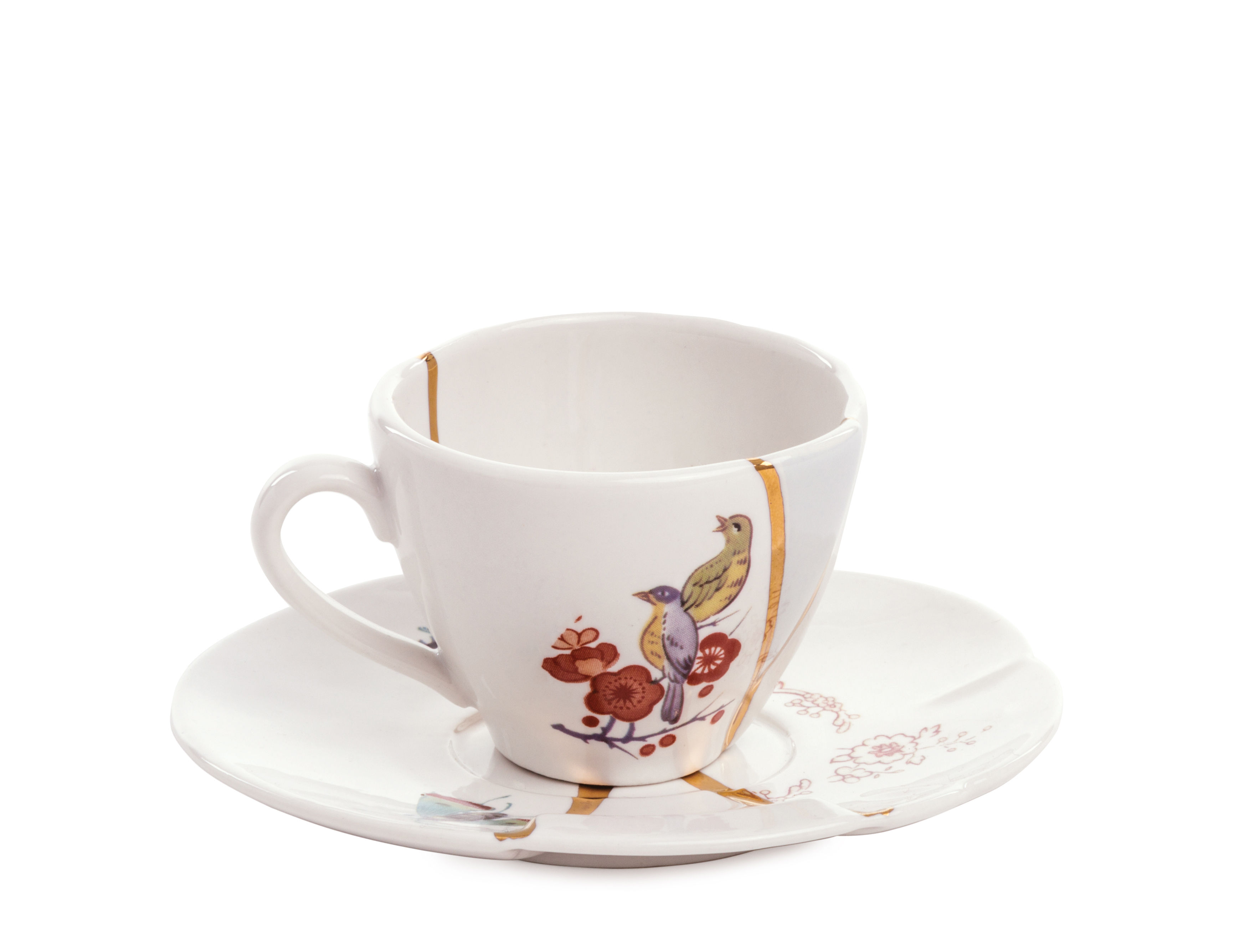 Kintsugi Kintsugi Coffee Cup Coffee Cup And Saucer Set By Seletti