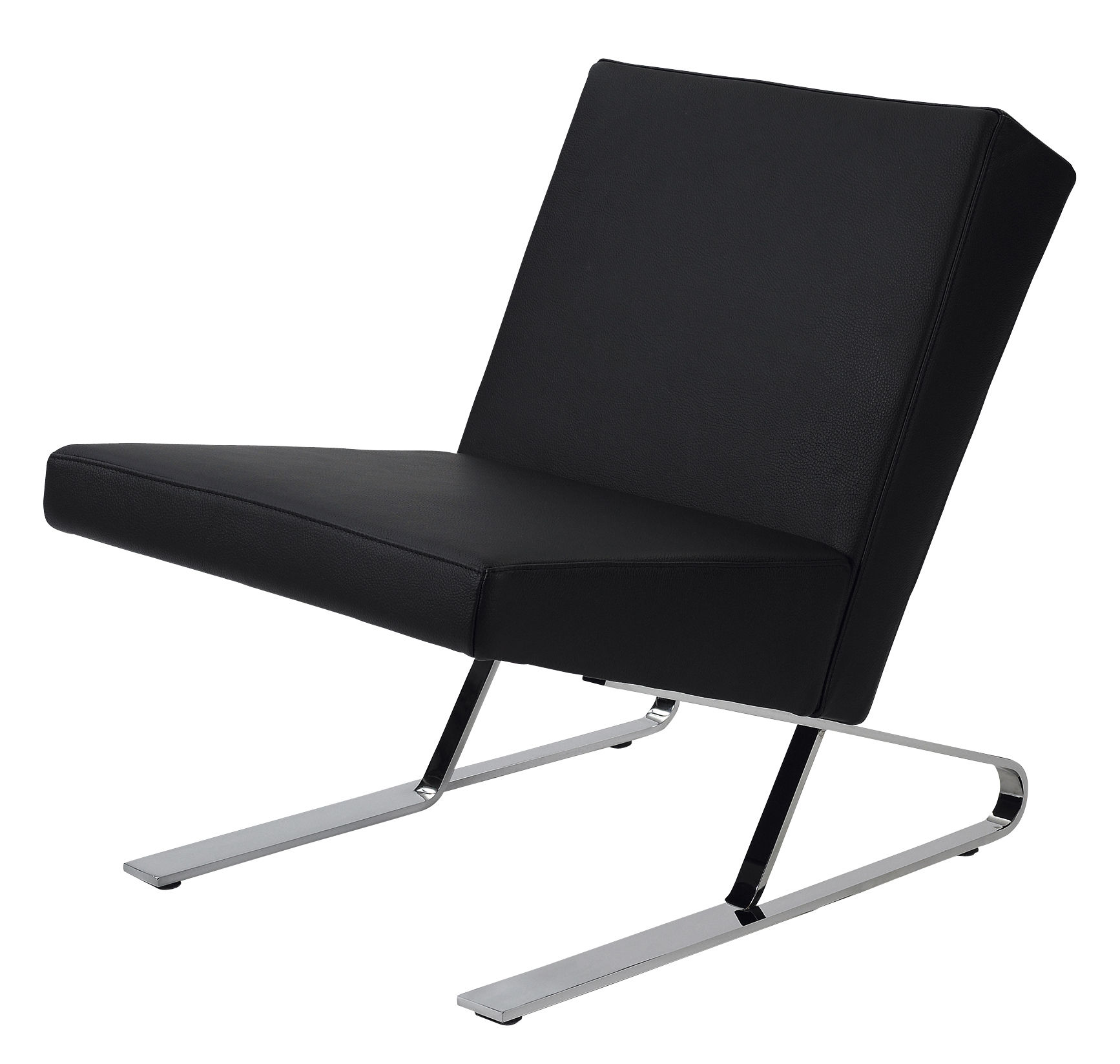 Leder Lounge Sessel Satyr Lounge Sessel Classicon