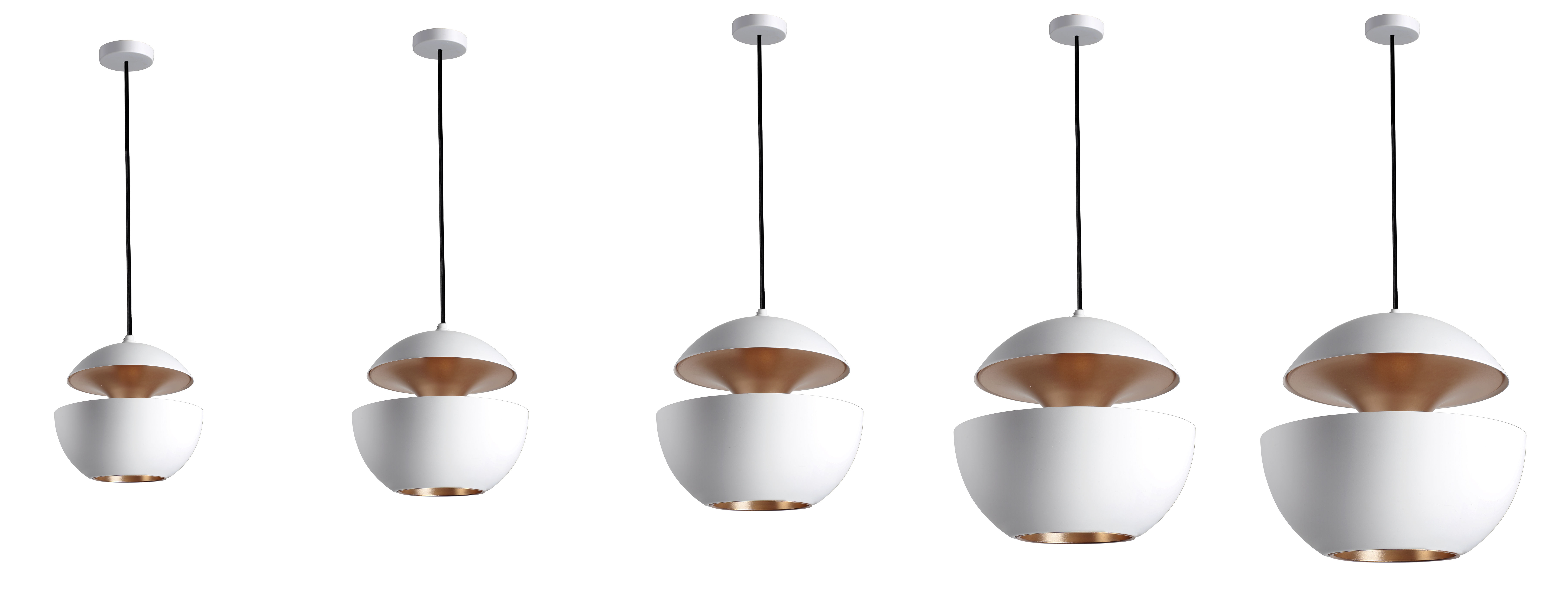 Suspension Interieur Cuivre Suspension Here Comes The Sun Dcw éditions Blanc
