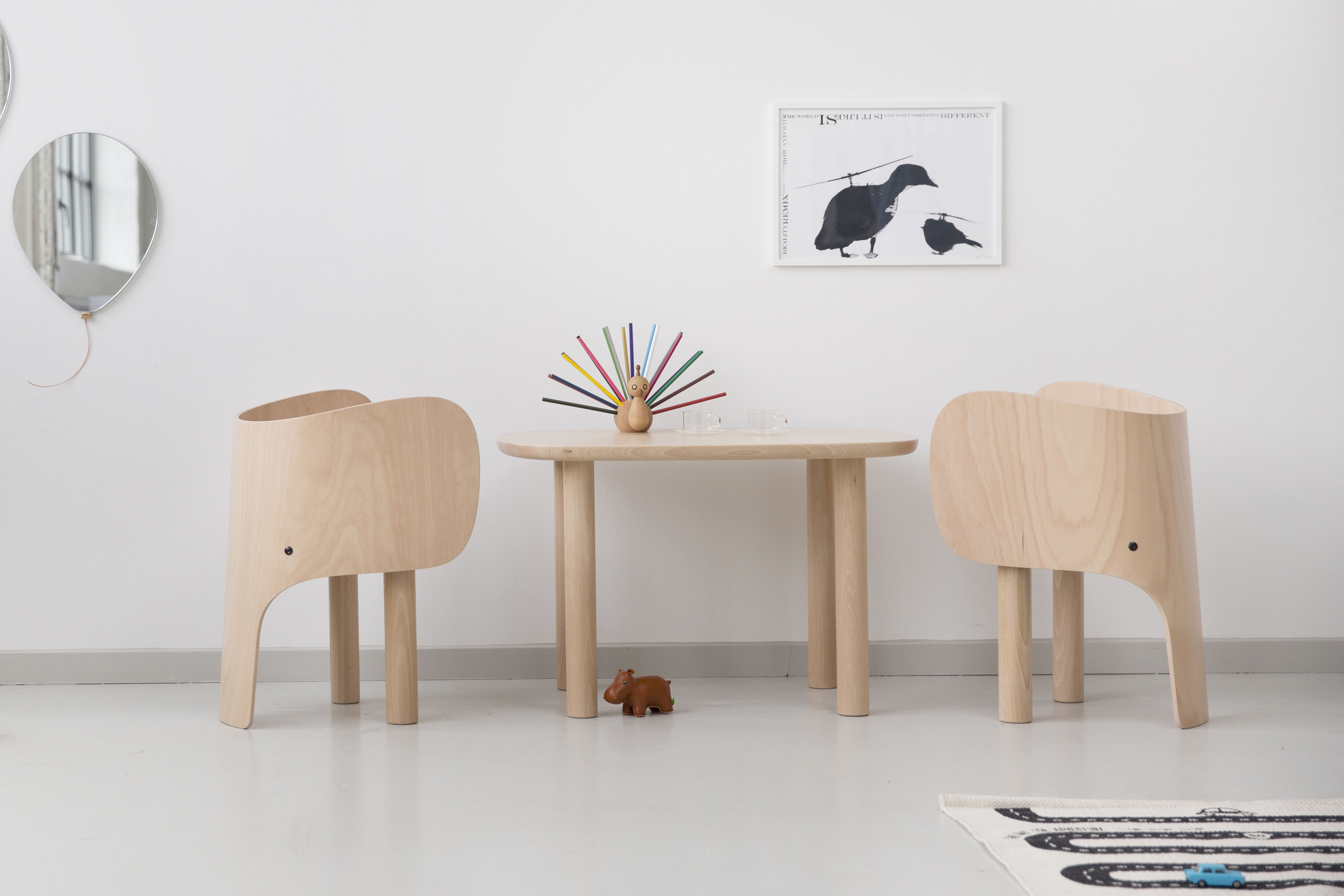 Fauteuil Design Enfant Chaise Enfant Elephant Elements Optimal