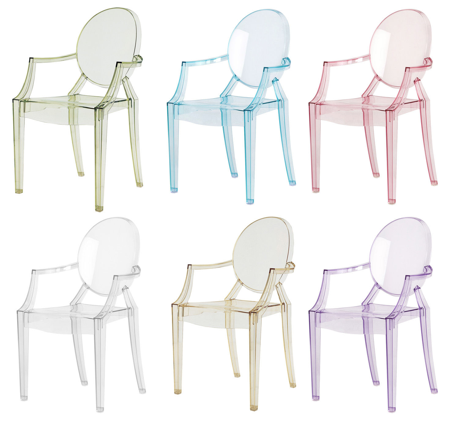 Philippe Starck Ghost Chair Lou Lou Ghost Children Armchair By Kartell
