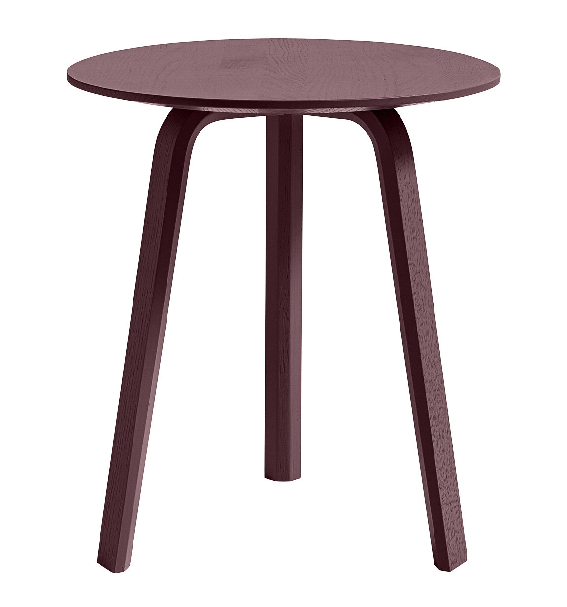 Made In Design Table Basse Table Basse Bella Ø 45 X H 49 Cm Bordeaux Hay Made