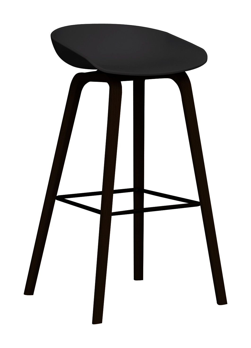 Barhocker Schwarz About A Stool Aas 32 | Hay | Hocker