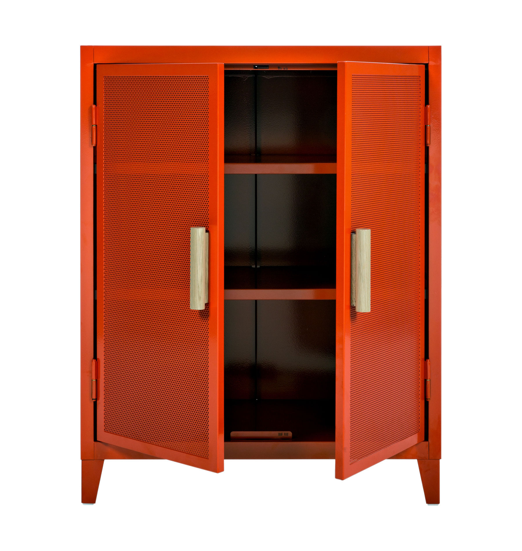 Rangement Vestiaire Rangement Vestiaire Bas Perforé Tolix - Orange | Made In