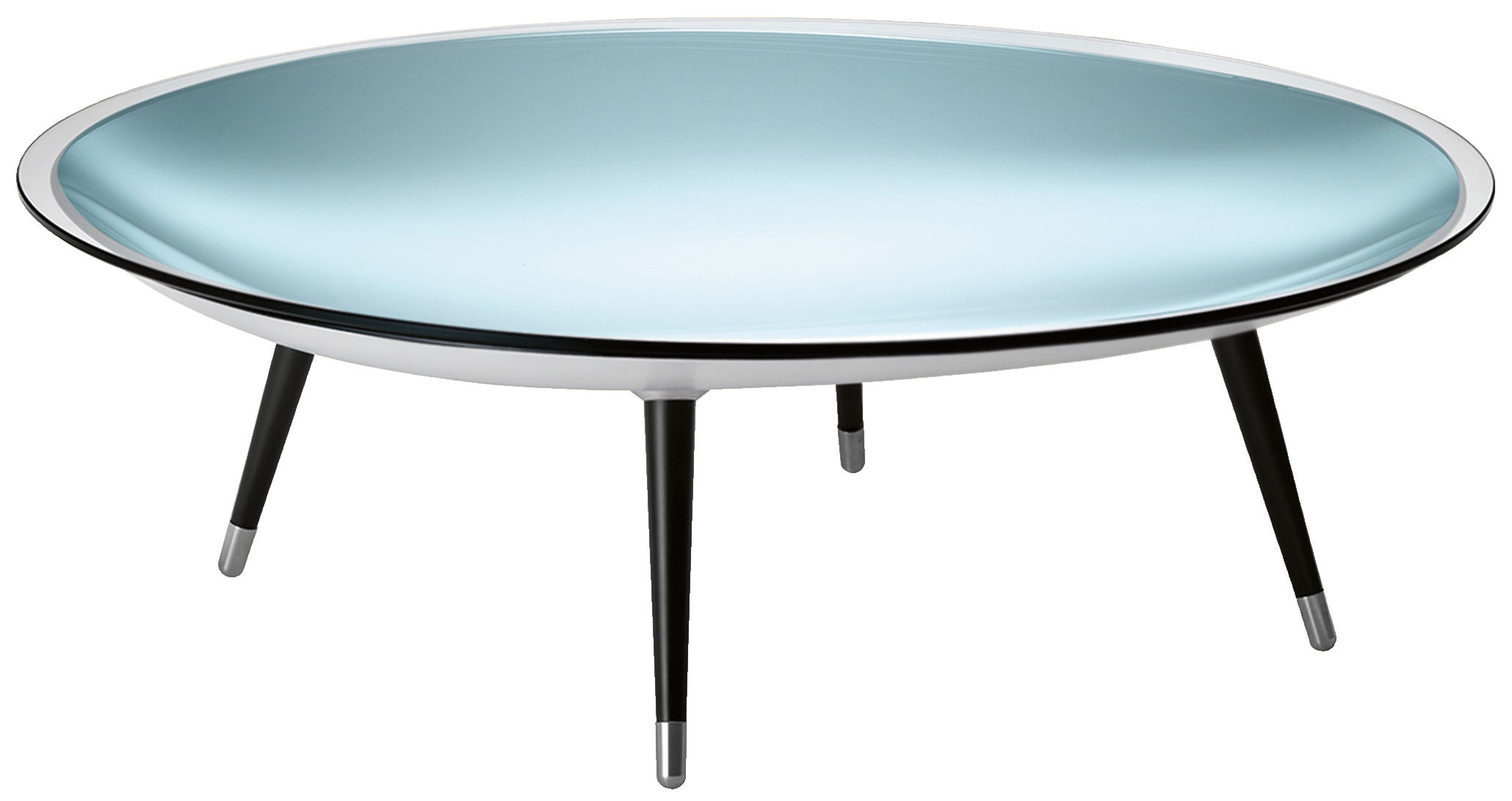 Pied Pour Table Basse En Verre Table Basse Roy Ø 120 Cm Fiam