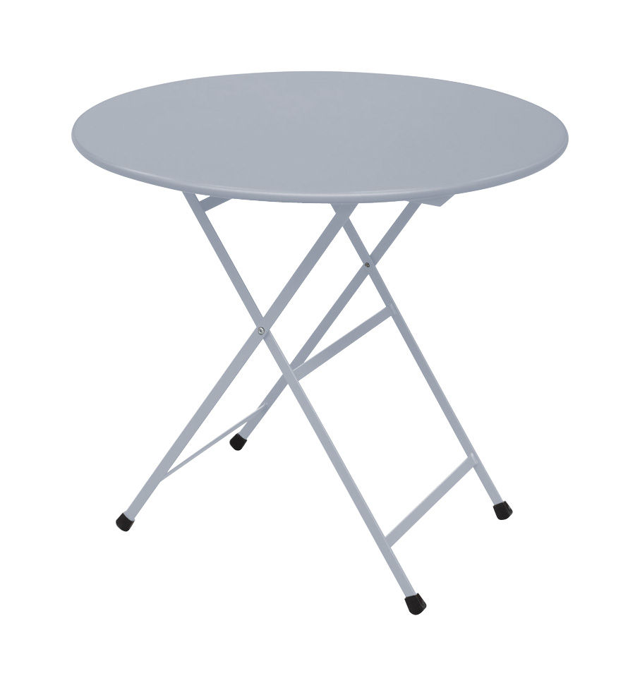 Table Aluminium Pliante Table Pliante Arc En Ciel Ø 80 Cm Emu