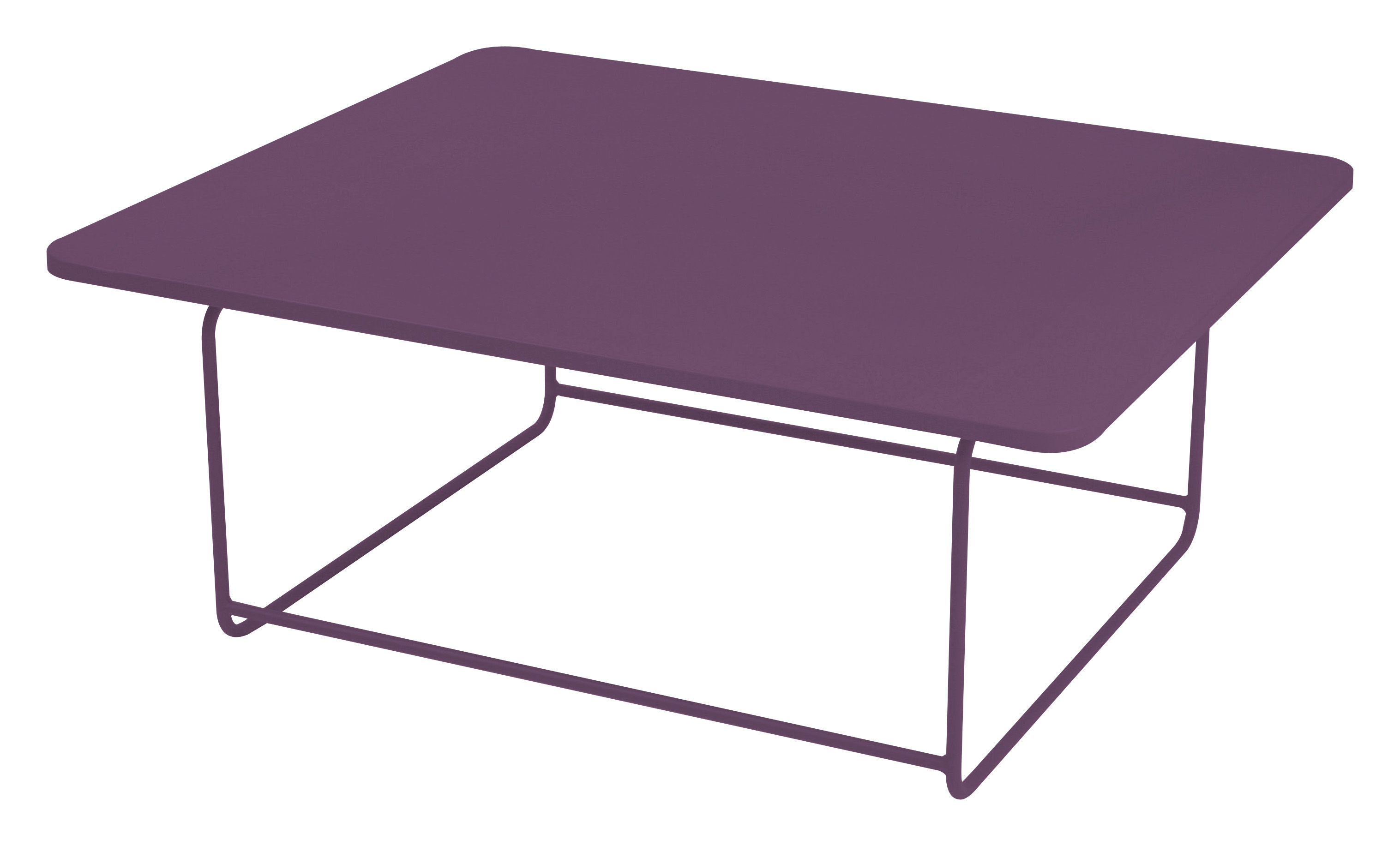 Made In Design Table Basse Table Basse Ellipse Aubergine Fermob Made In Design