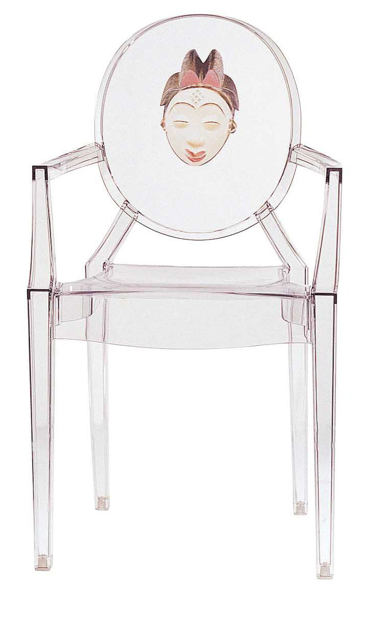 Sessel China Louis Ghost Stapelbarer Sessel Kartell