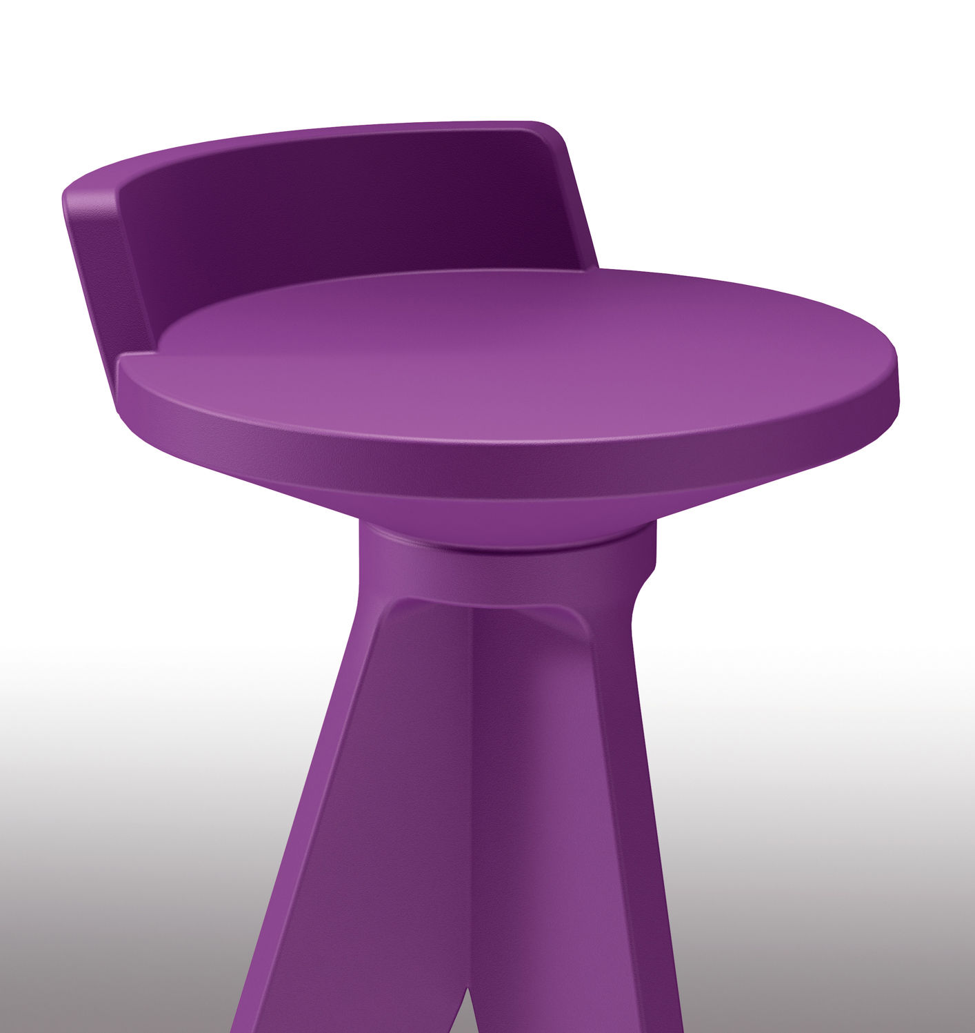 Tabouret De Bar Plastique Tabouret De Bar Oxford H 75 Cm Plastique Myyour