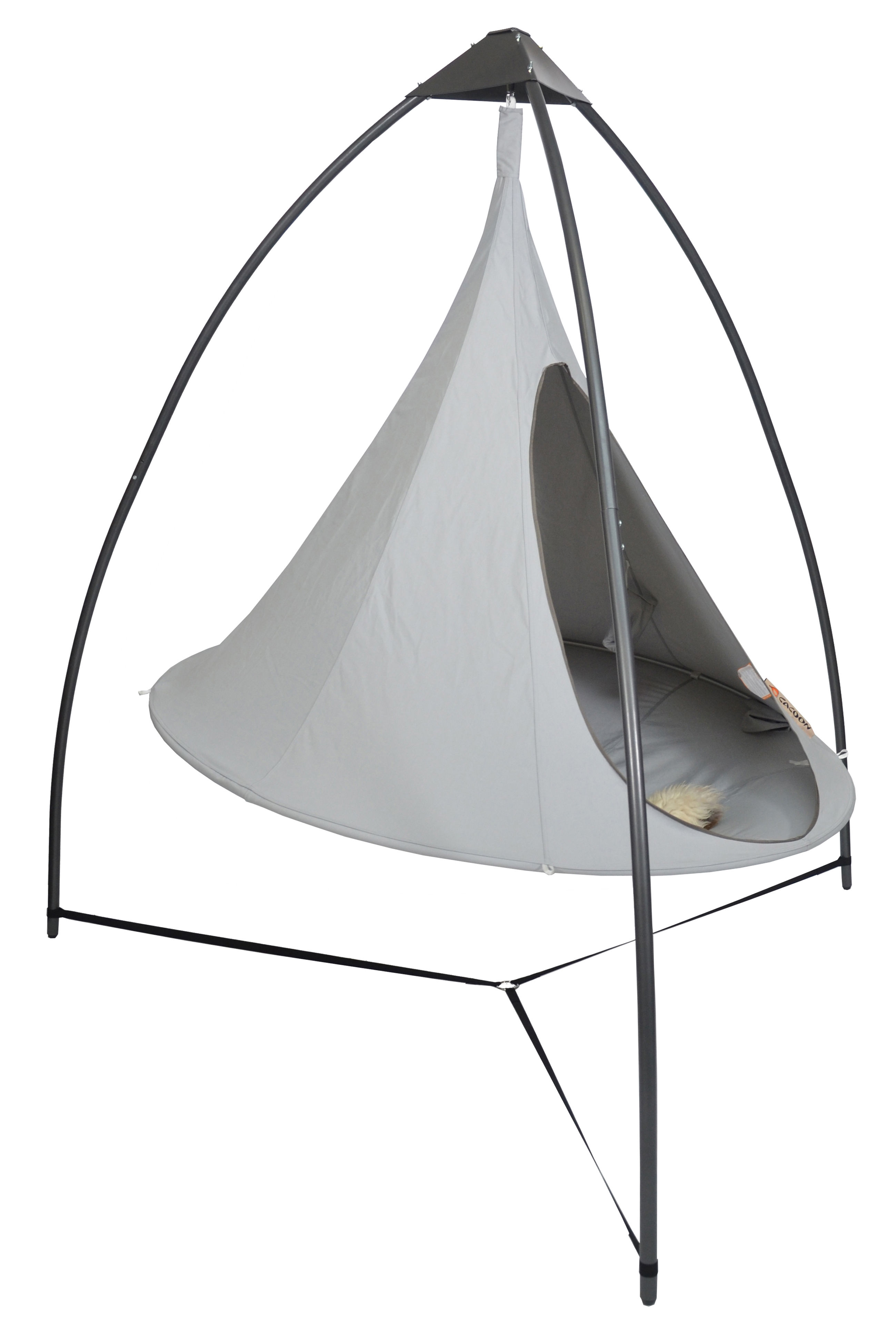 Cacoon Structure To Hang Up Cacoon Tents By Cacoon