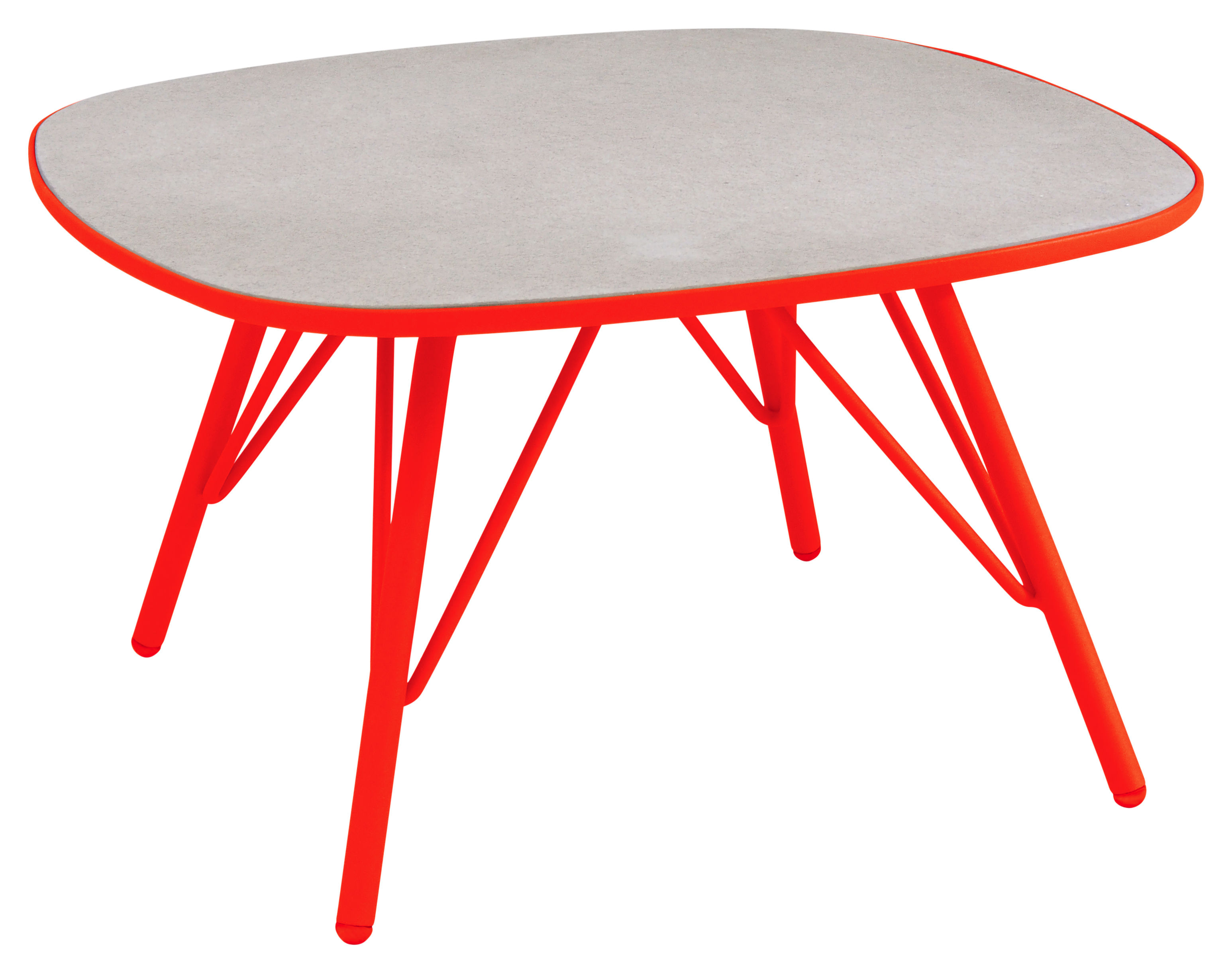 Made In Design Table Basse Table Basse Lyze Emu Rouge H 40 Made In Design