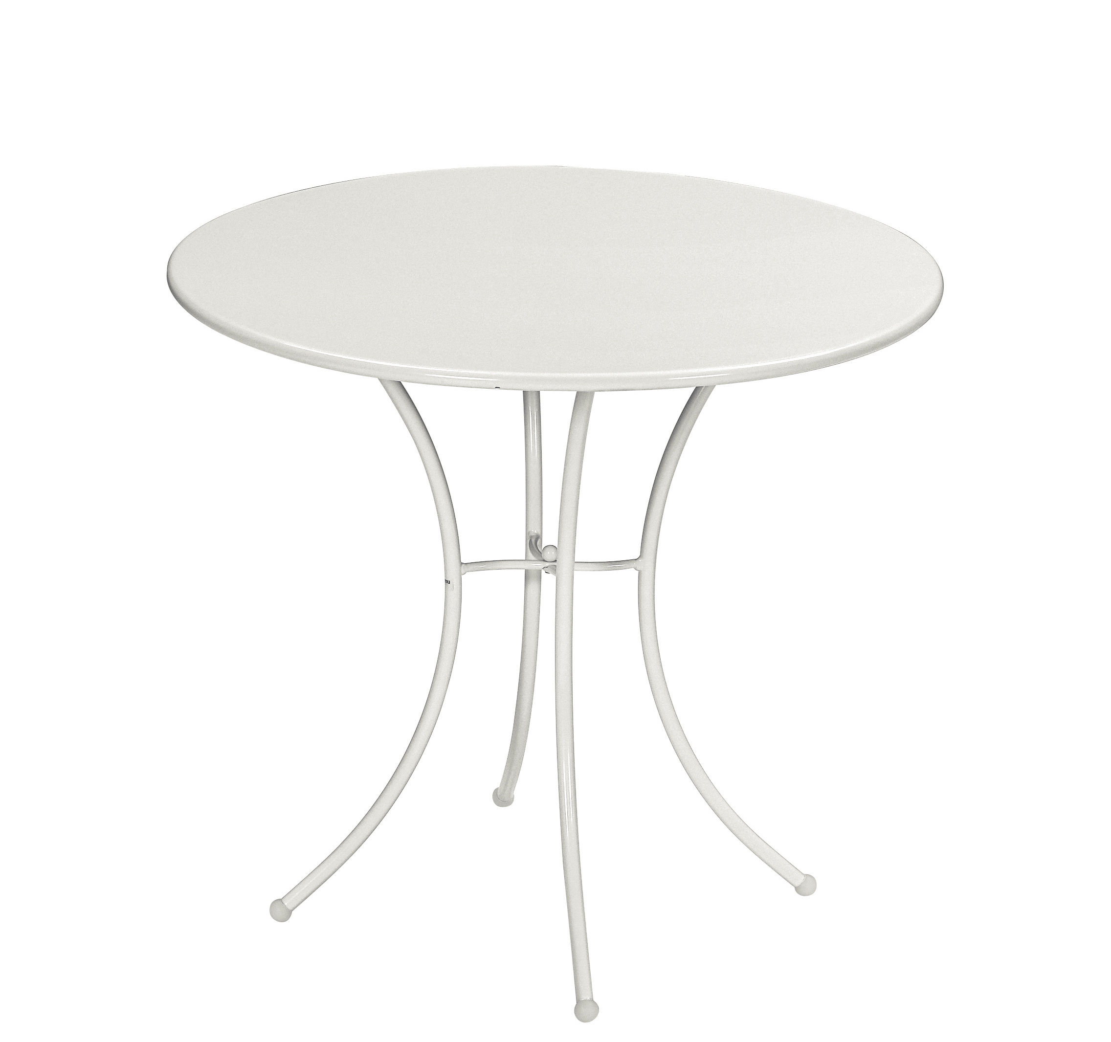 Table Ronde 80 Cm Table Ronde Pigalle Métal Ø 80 Cm Emu