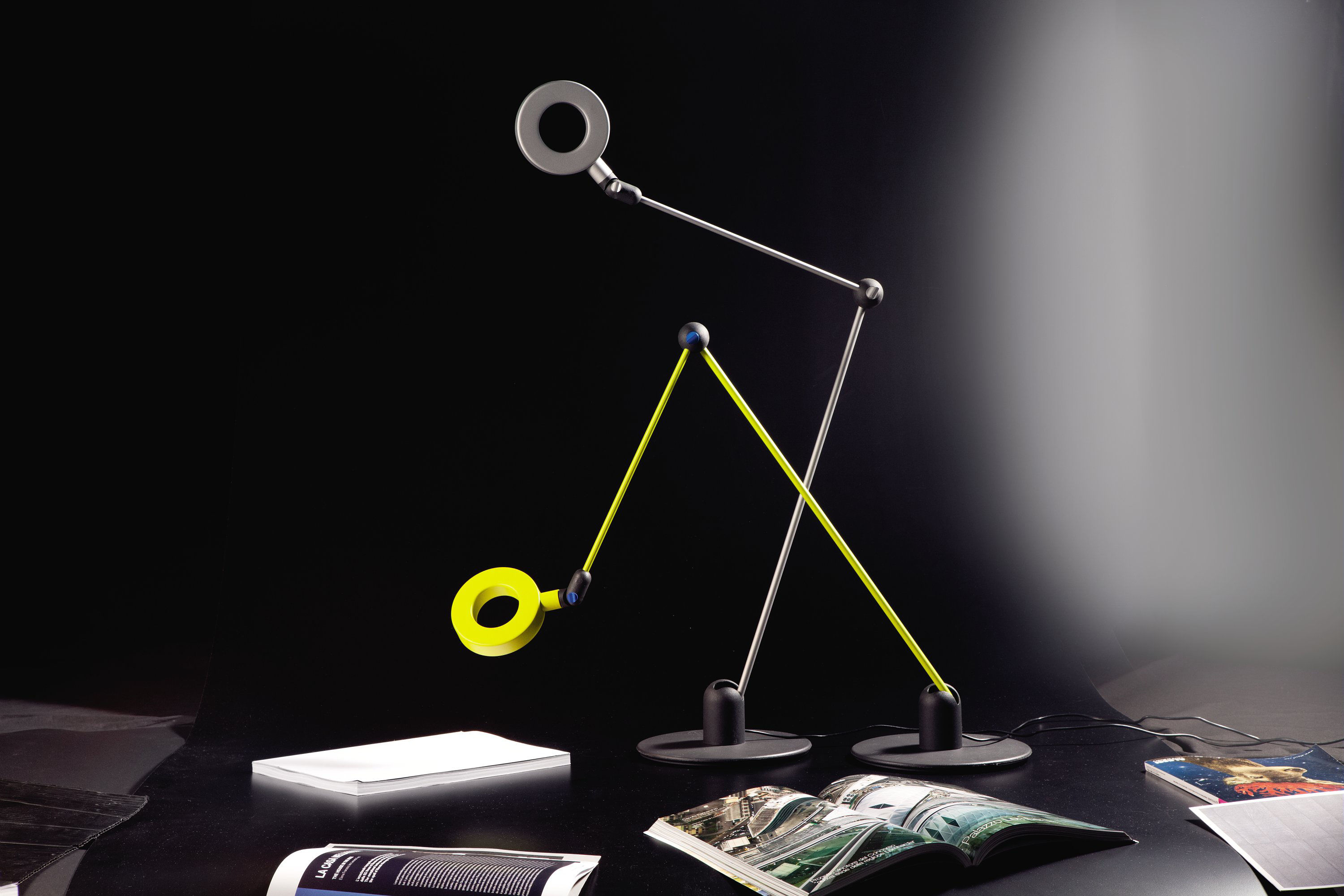 Lampe De Table Verte Lampe De Table L 39amica Led Vert Jaune Martinelli Luce