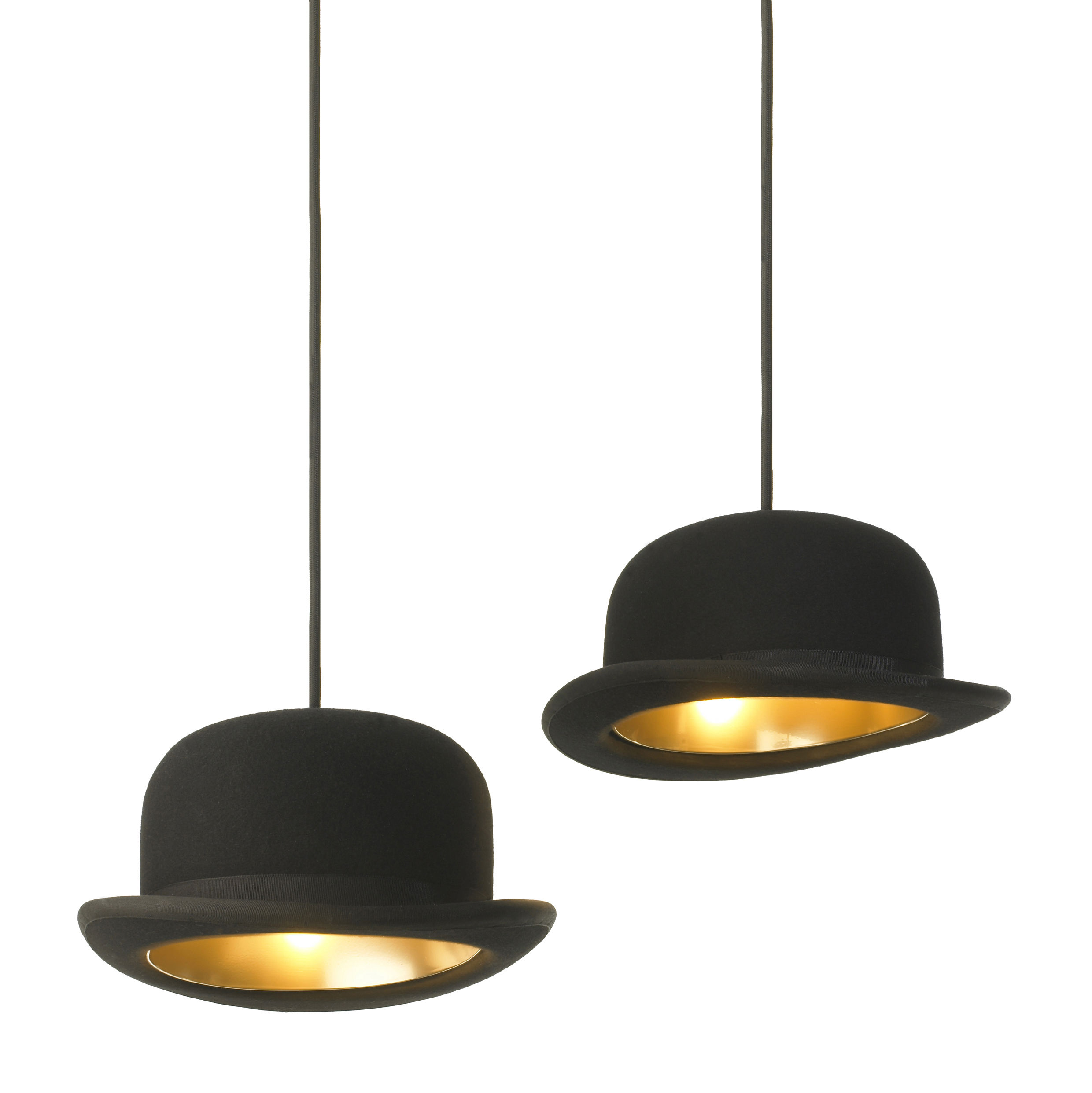 Chapeau De Lampe Suspension Jeeves Chapeau Melon Innermost