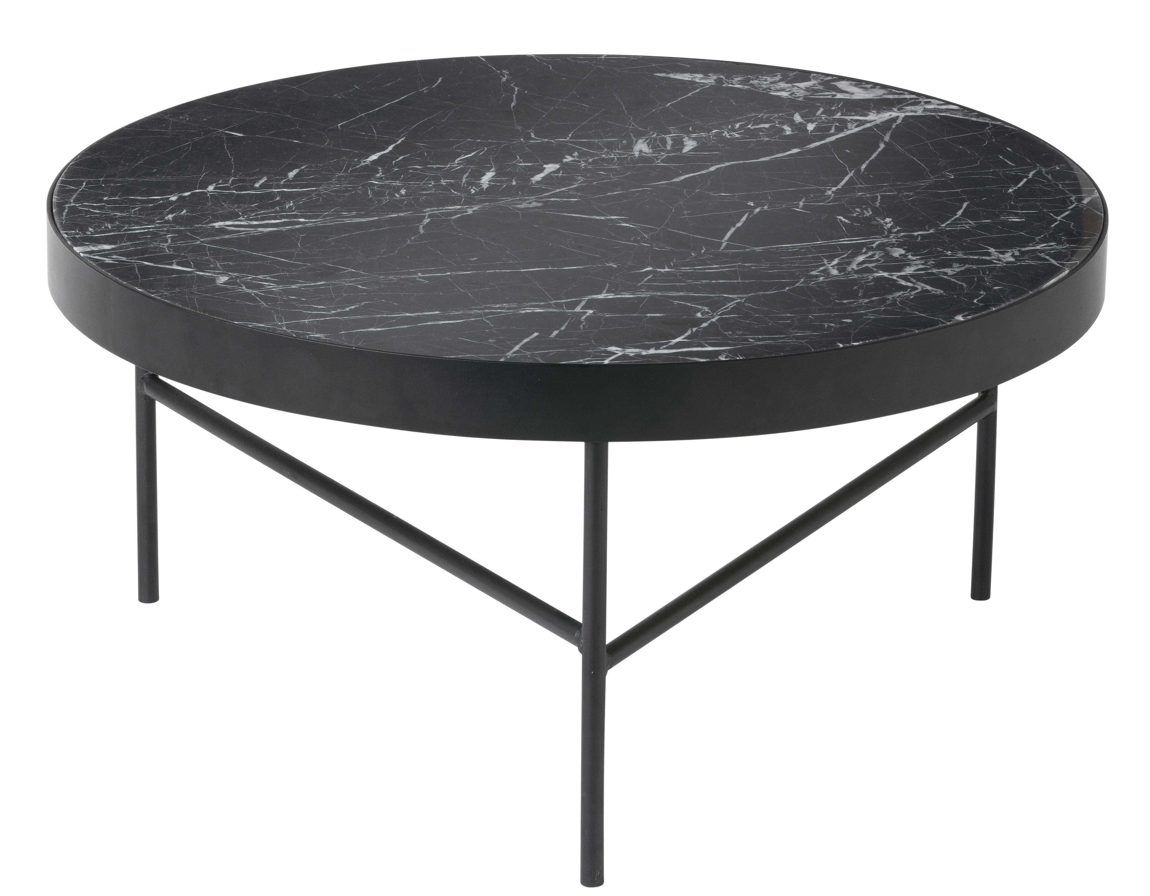 Table Marbre Design Marble Large Coffee Table Ø 70 5 X H 35 Cm By Ferm Living