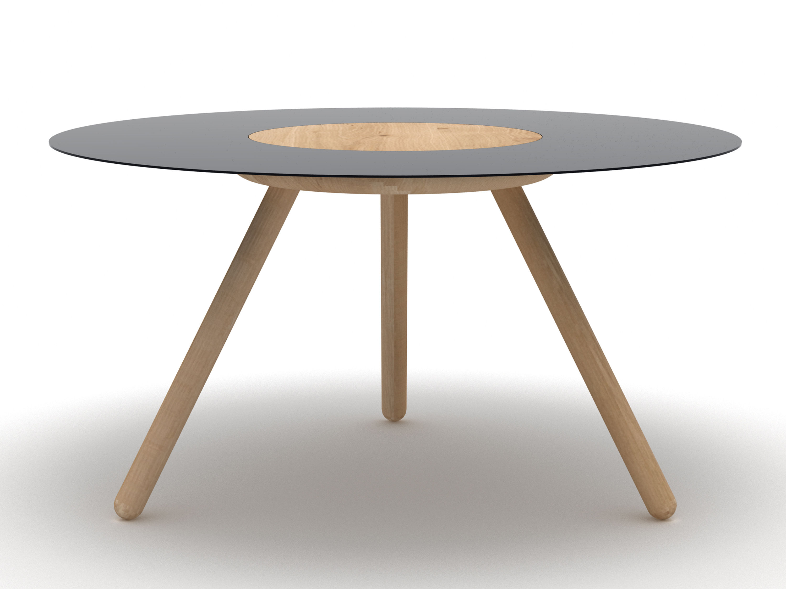 Made In Design Table Basse Table Basse Sputnik Ø 70 X H 37 Cm Noir Universo Positivo