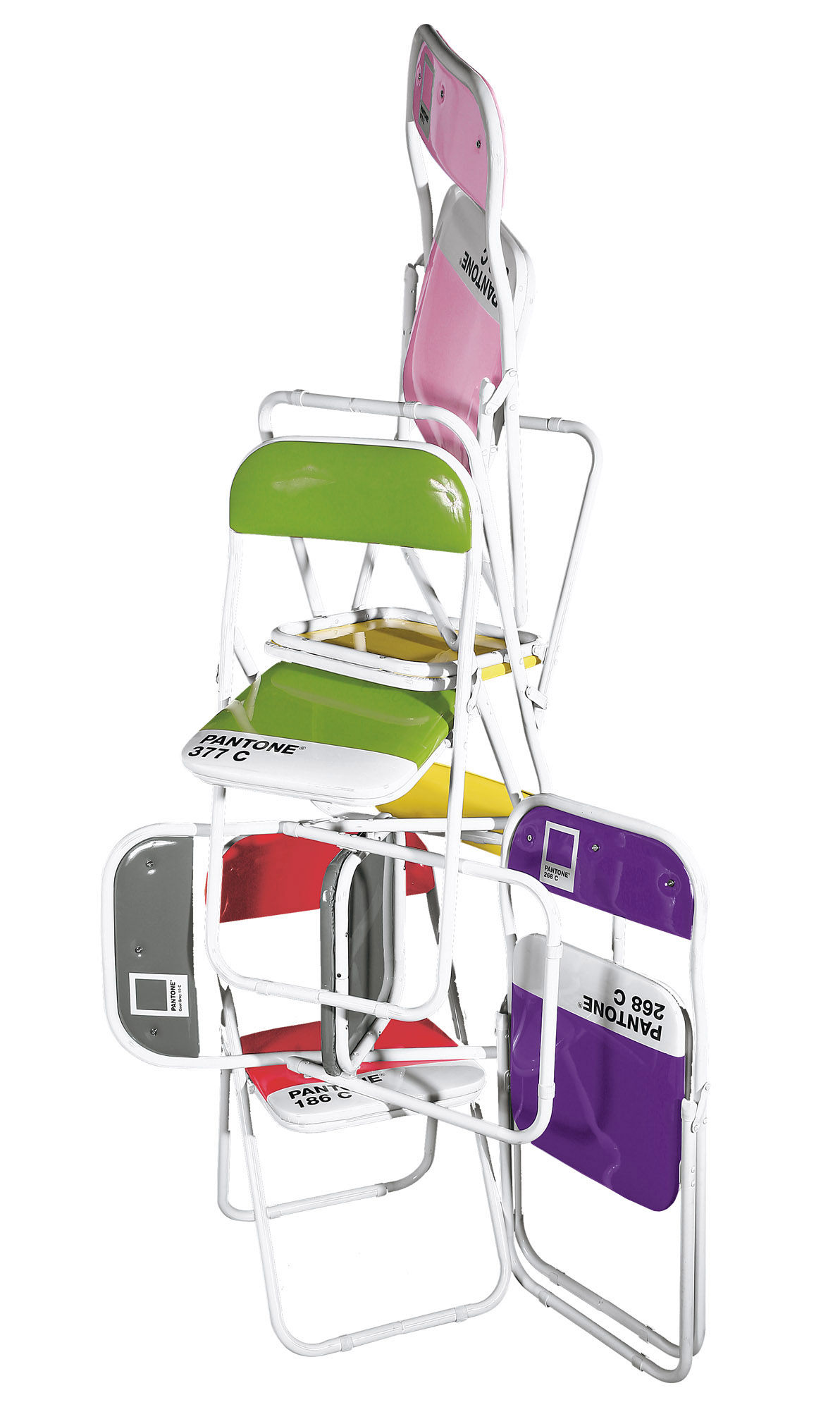 Pantone Chair Pantone Children S Chair Folding Chair For Kid By Seletti