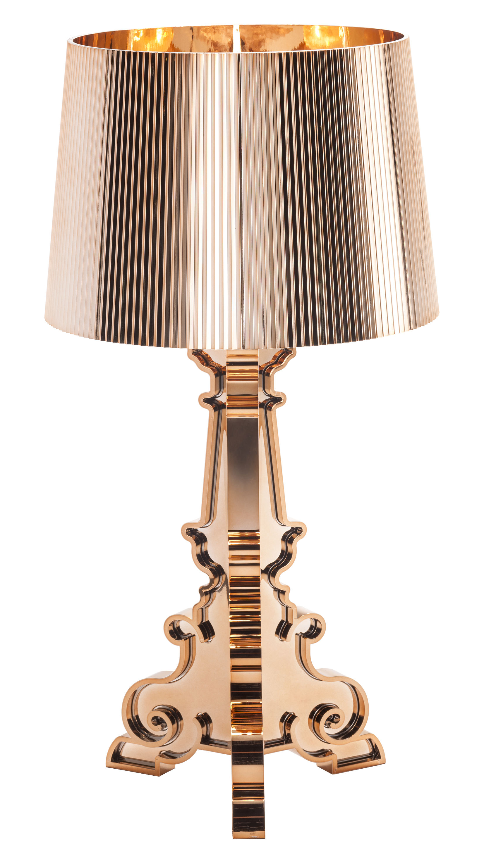 Lampe Kartell Lampe De Table Bourgie Kartell - Cuivre | Made In Design