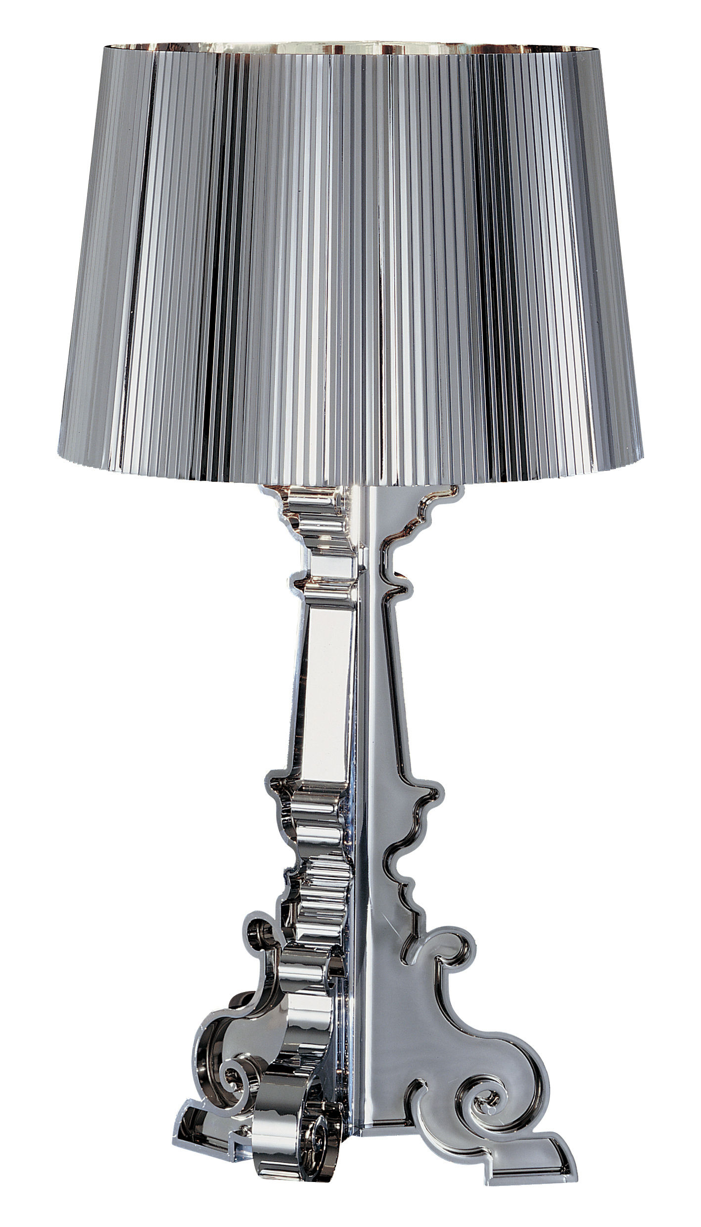 Lamp Kartell Bourgie Chrome Table Lamp By Kartell