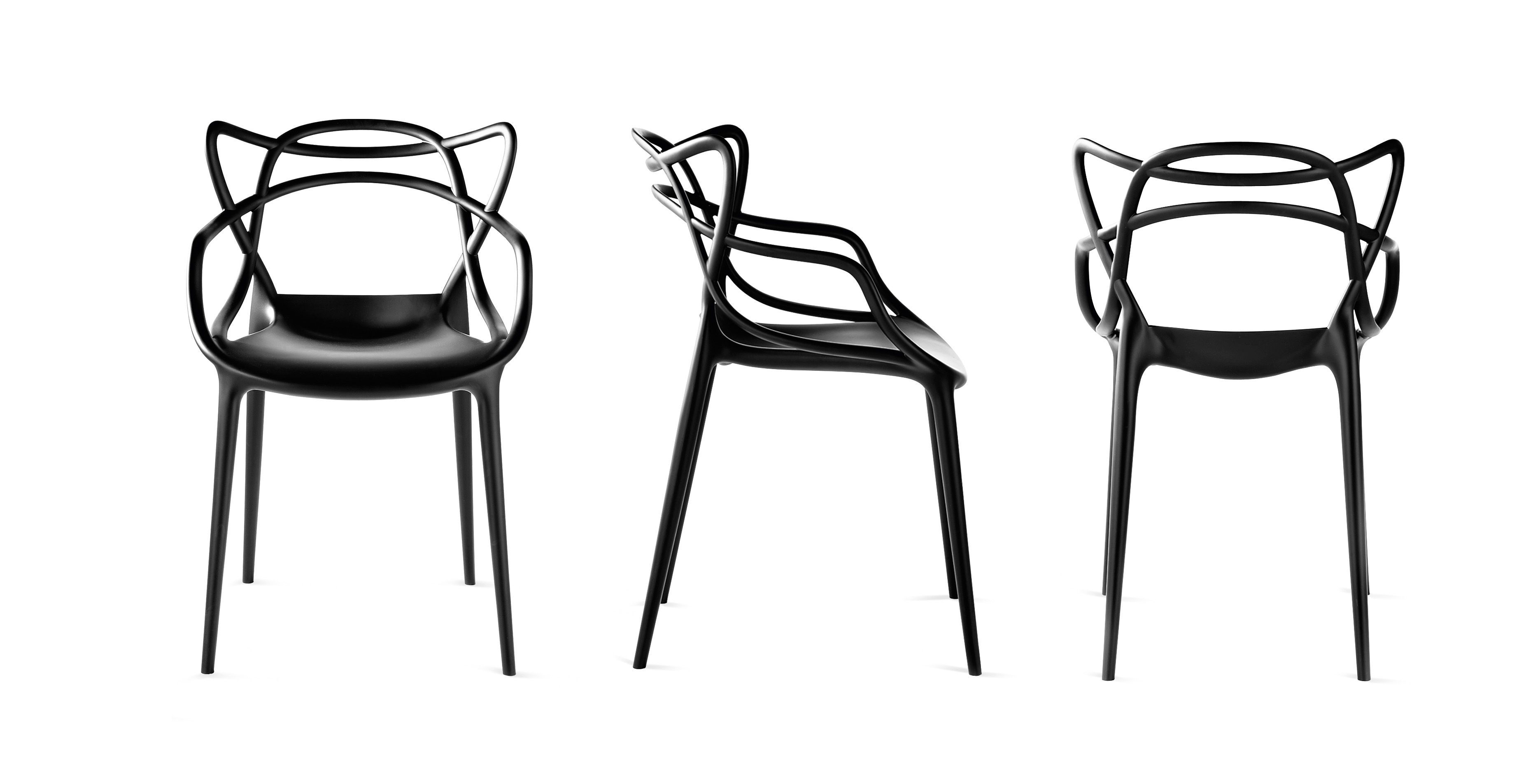 Chaises Masters Starck Chaise Starck Masters Kartell - Noir | Made In Design