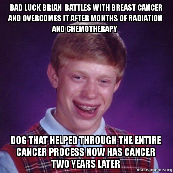 meme generator bad luck brian