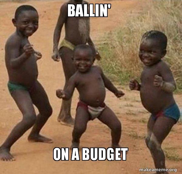 ballin\u0027 on a budget - Dancing Black Kids Make a Meme
