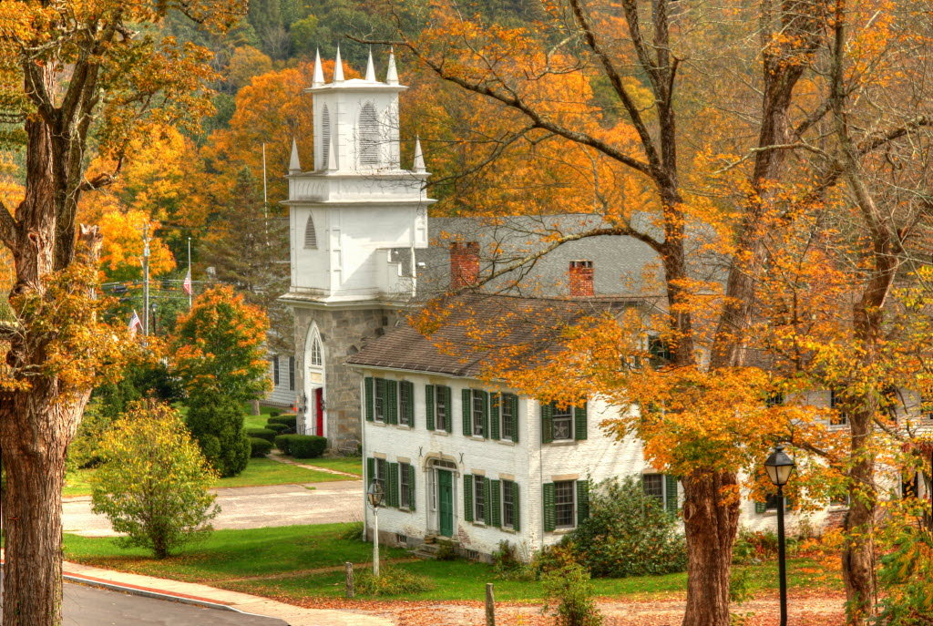 Fall Widescreen Wallpaper Kevin Fay S Shot Of Riverton Connecticut S Classic New