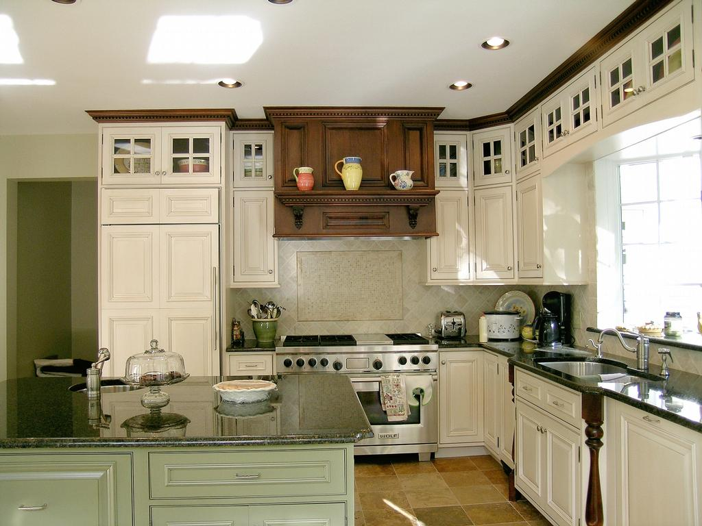 Kitchen Cabinets With Black Trim Pictures For Pine Hill Woodcrafters In North Oxford Ma 01537