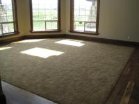 carpet with hardwood border | Living room remodel | Pinterest