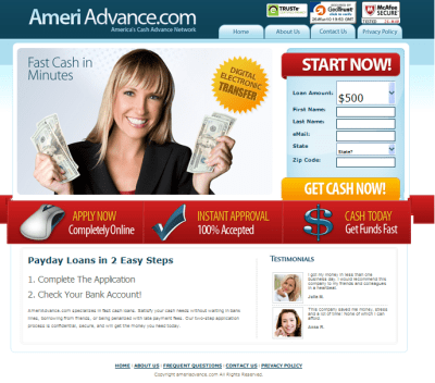 fast cash payday cash advance