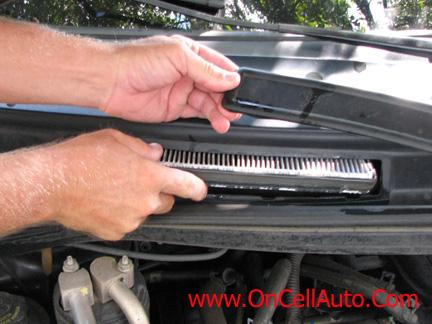 SOLVED 2004 Honda Accord Where is the cabin air filter - Fixya