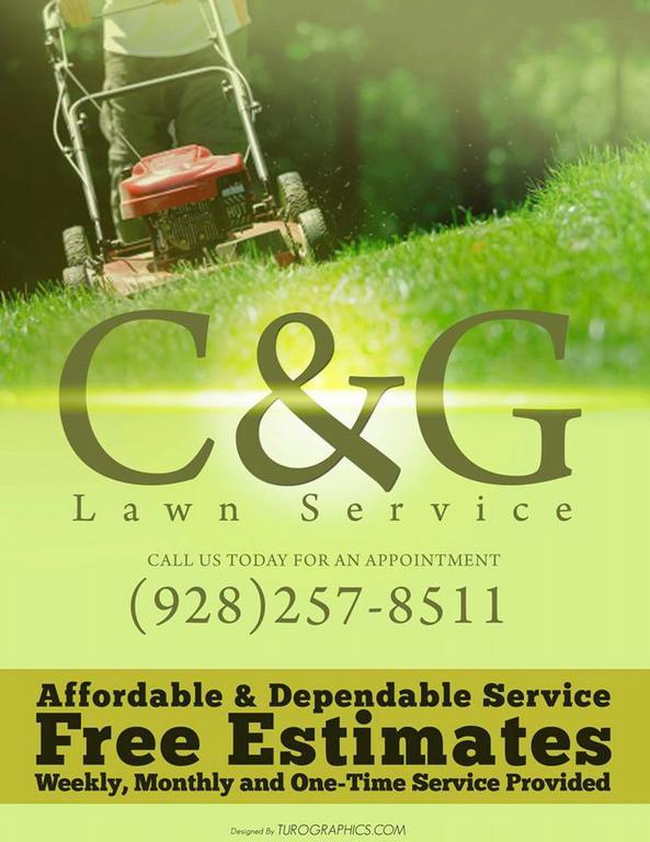 az flyer service - Thinkpawsitive - lawn services flyer