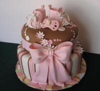 Living Room Decorating Ideas: Elegant Baby Shower Cakes ...