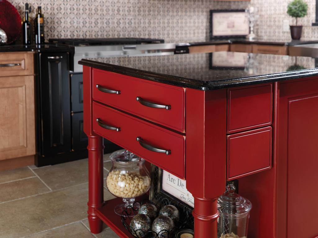 dark red kitchen island red kitchen cabinets AZ