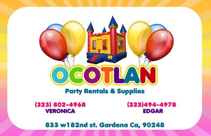 PINK FLYER FRONT from Ocotlan Jalisco Party Supply in Gardena, CA 90248