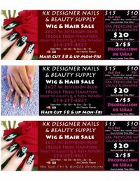 KK Designer Nails & Beauty Supply, LLC. - Dallas TX 75211 ...
