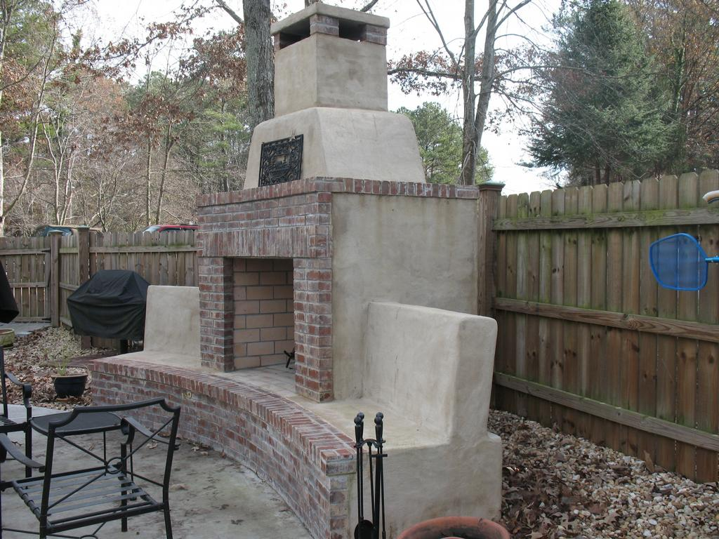 Outdoor Fireplace Contractors Pictures For Jackpot Construction In Covington Ga 30014