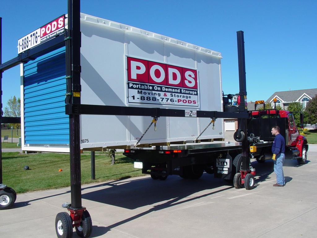 Peoria Storage Pictures For Pods Peoria Moving And Storage In Peoria Il 61615