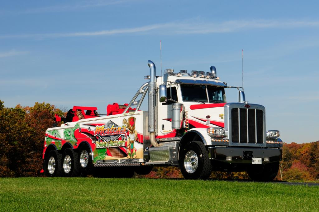 50 Ton Wrecker from Morton\u0027s Towing  Recovery in Laurel, MD 20724