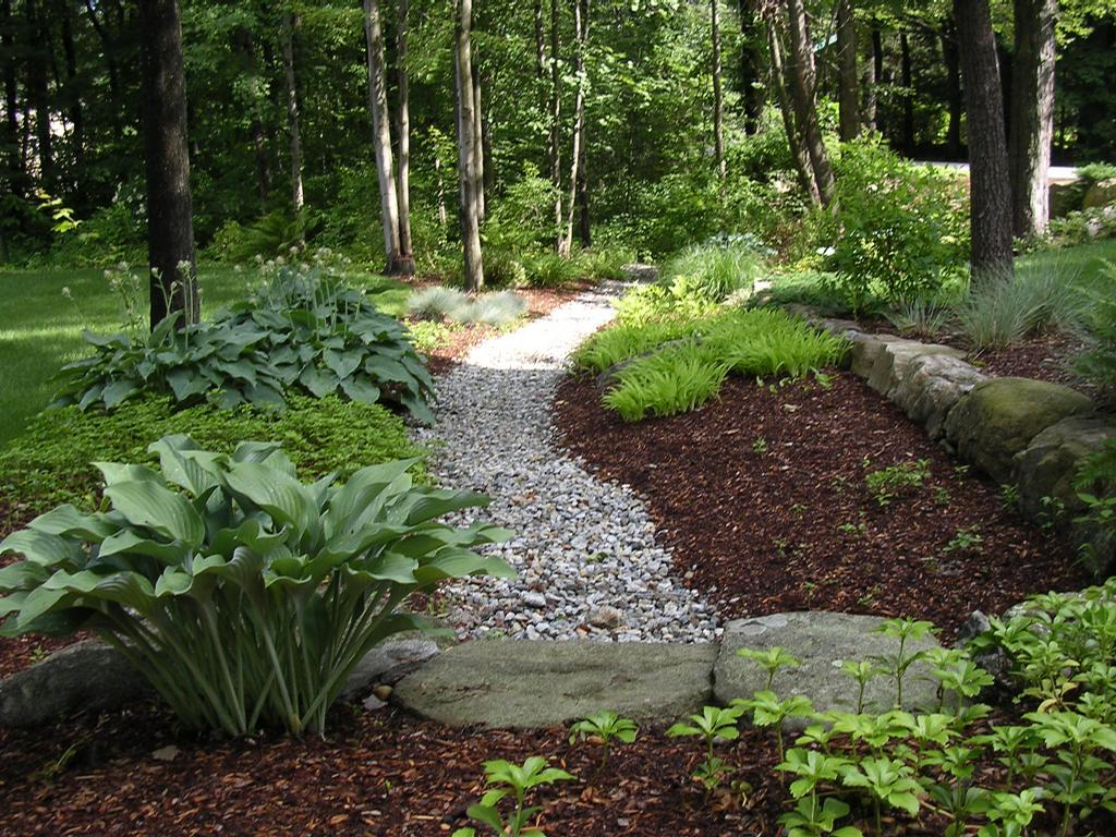 Natursteintreppe Bauen Landscaping Ideas For Landscaping In Shade