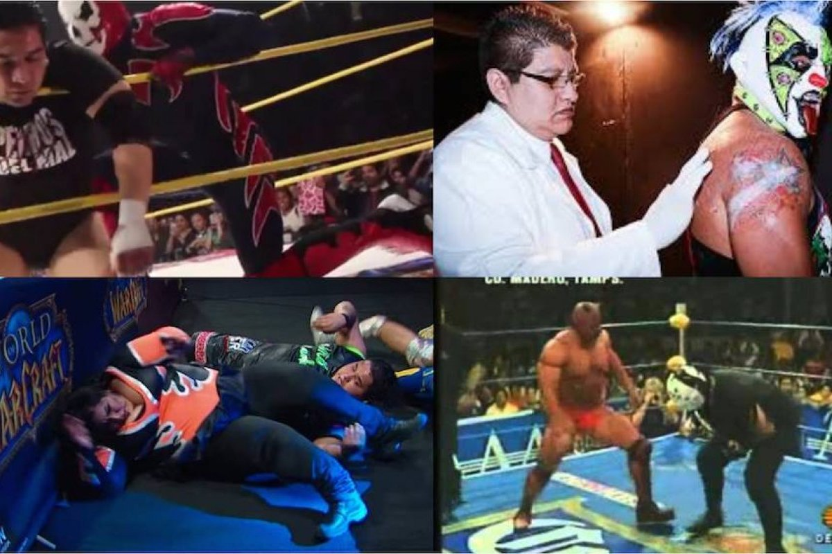 Vidios De Lucha Libre Video Los Terribles Accidentes En La Lucha Libre Mexicana