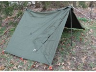 Military Surplus Complete Shelter Half System 2 Person ...